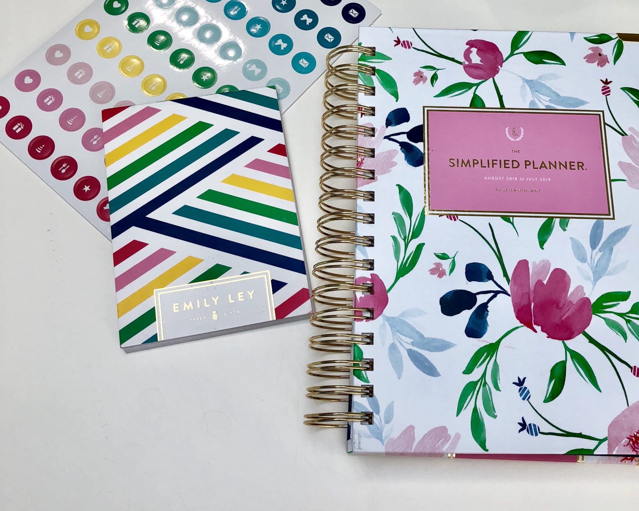 photo regarding Simplified Planner identify Method with Me: Simplified Planner - Past the Bookends