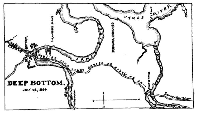 Deep Bottom. July 26, 1864