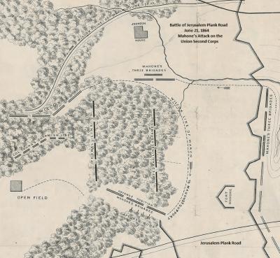 Battle Of Jerusalem Plank Road: June 22, 1864