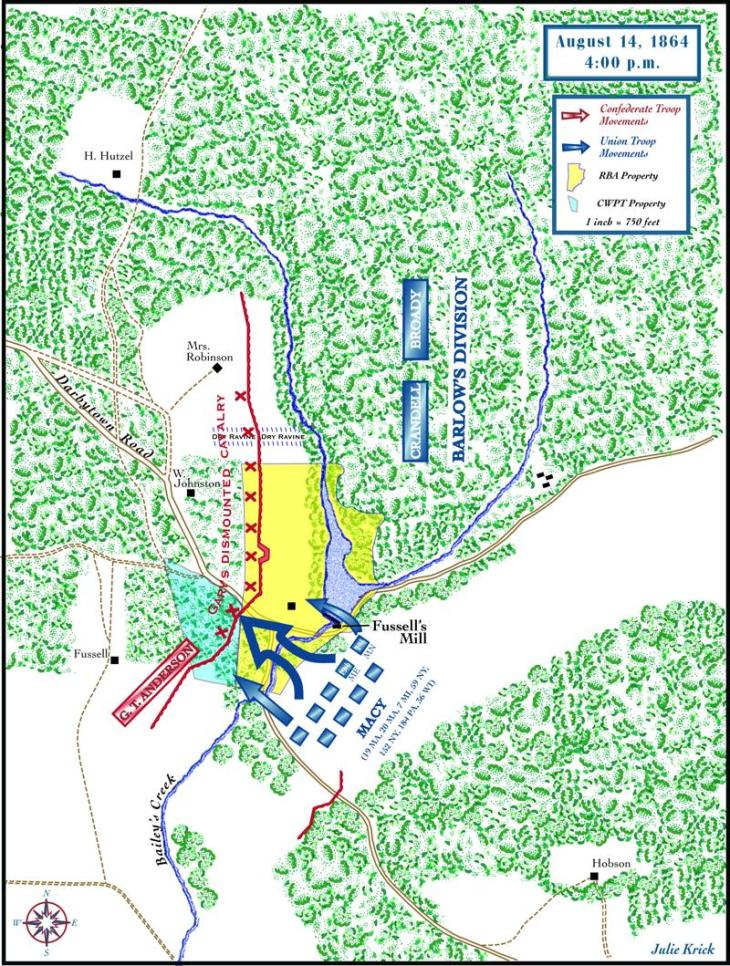 2nd Battle of Deep Bottom Aug. 14, 1864 (Julie Krick)