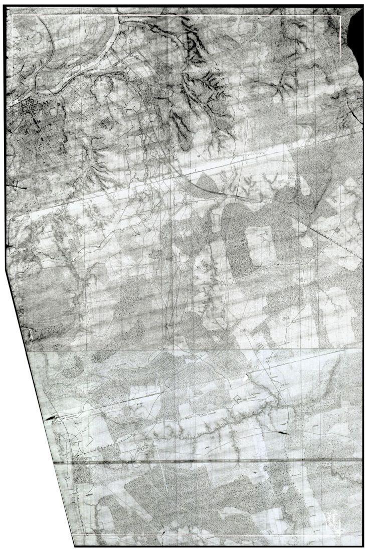 BEARSS Petersburg Maps JERUSALEM Topo SMALL