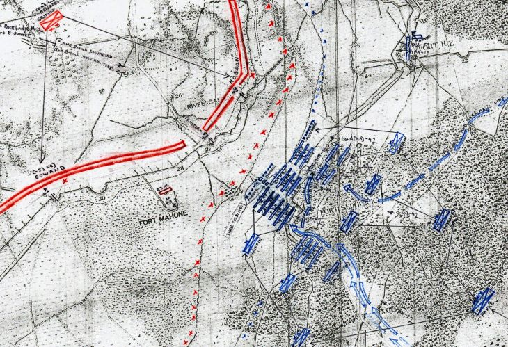 Bearss Petersburg Maps IX Corps Apr 2 Layer 1 Zoomed In w 1280
