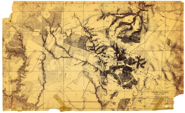 BEARSS Petersburg Maps VI Corps Topo SMALL