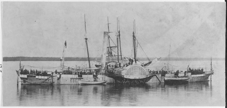 NH 46255: USS Miami (1862-65)