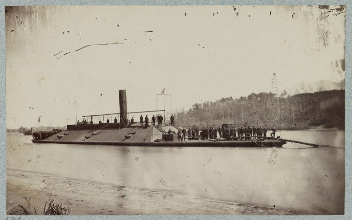 Confederate ram Atlanta (after capture), Trent's Reach, James River, Va.