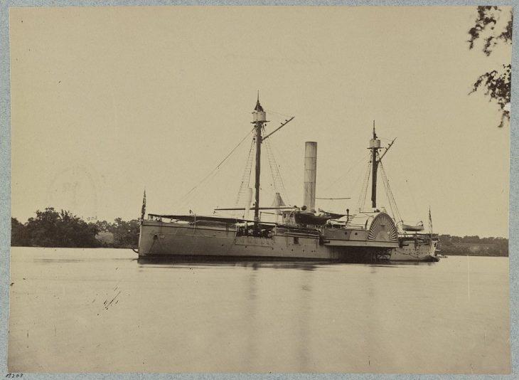 33947v: U.S.S. Mendota, James River, Va.