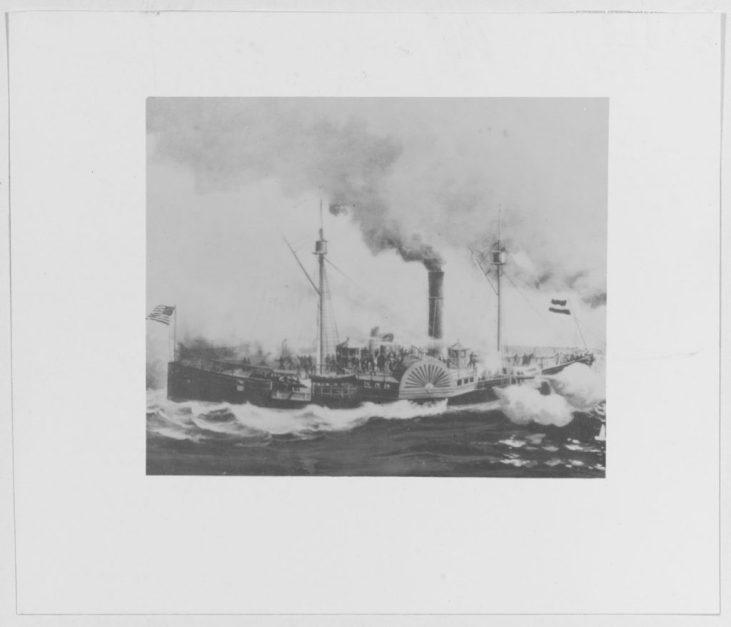 NH 108680: US STEAMER SASSACUS (1863-1865)