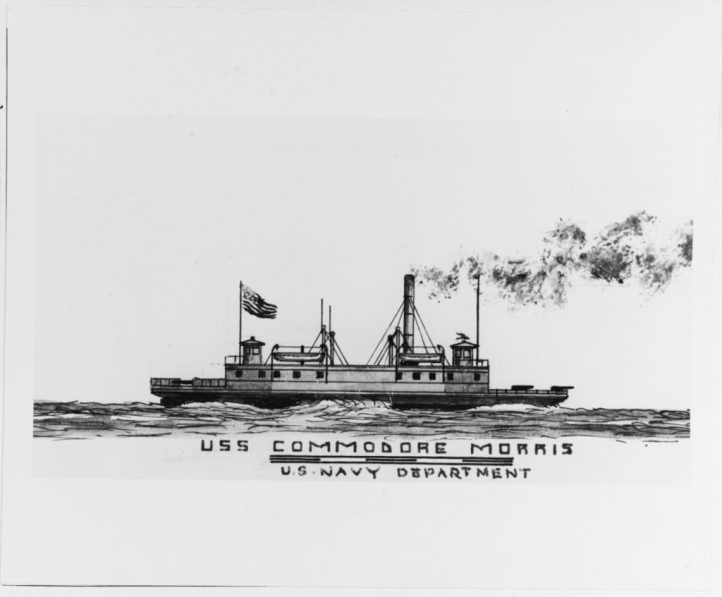 COMMODORE MORRIS (naval and merchant steamer, 1862-1931)