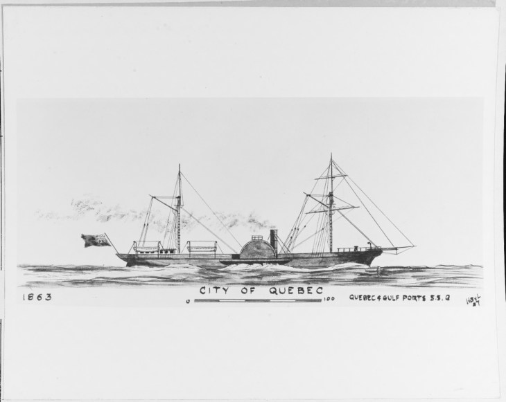NH 66414: Steamship City of Quebec (aka Dumbarton)