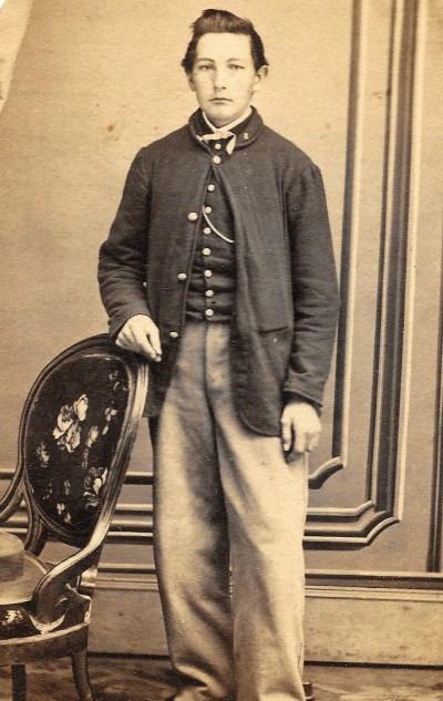 John Adam Mayers, 99th Pennsylvania Co. K