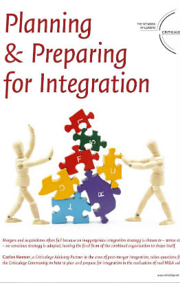 Planning & Preparing for Integration | Beyond the Deal
