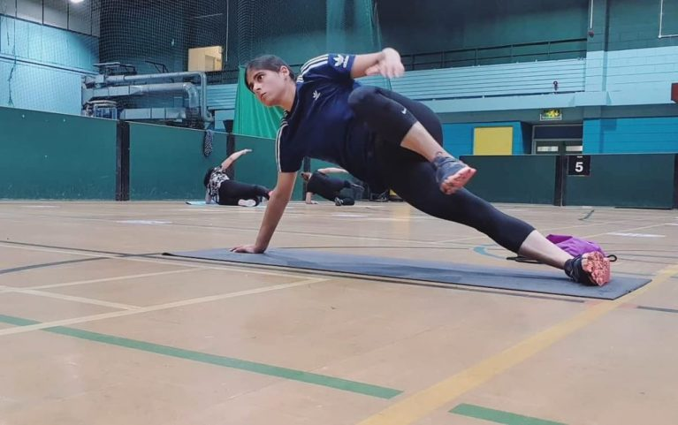 Fire up your core with planks!