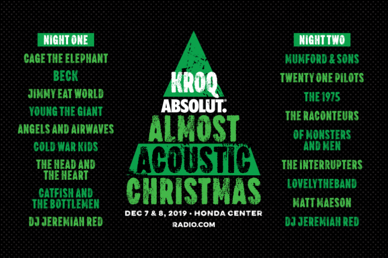 Acoustic Christmas 2020 Lineup Johnson City 2019 Almost Acoustic Christmas Lineup Announced   Beyond The Stage