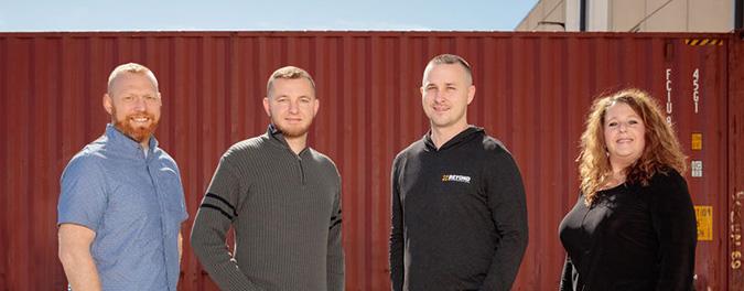 The Beyond Warehousing leadership team