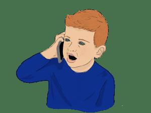 Speech Language Therapy Resource Image, Child Talking
