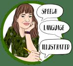 Speech Language Illustrated Logo Image