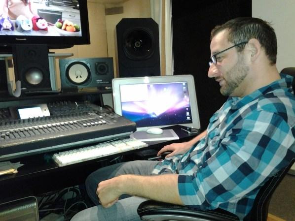 Mr. Rigz on the job at Audacity Recording.