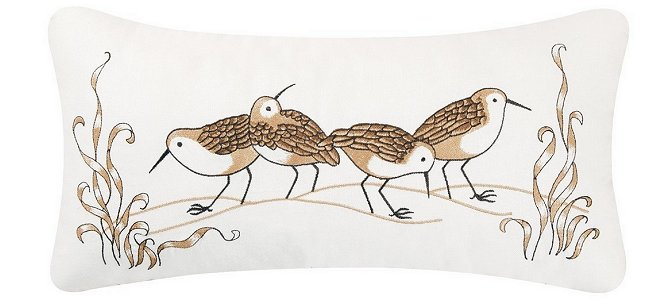 Sandpiper Decorator Pillow