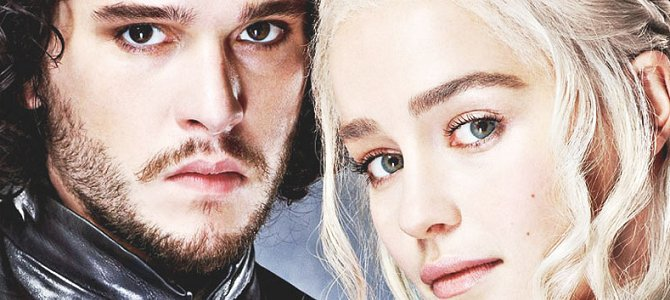 Jon Snow and Daenerys Targaryen - Game of Thrones