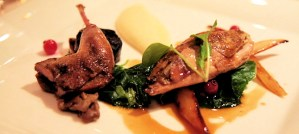 Roast Partridge - Photo by Paul Lomax