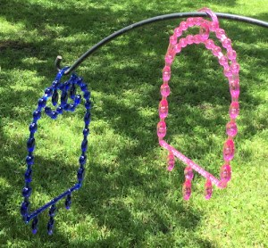 Bling Swings - Blue and Pink