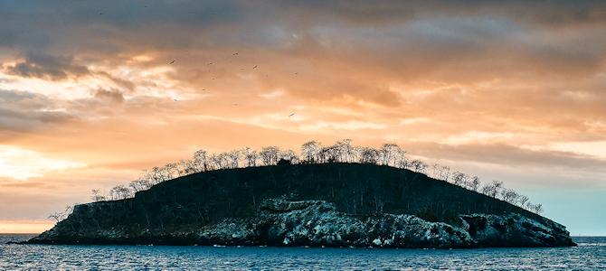 Galapagos Sunset - Photo by Pedro Szekely