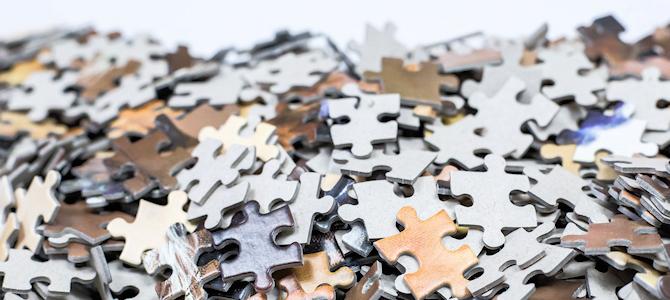 Puzzle Pieces - Photo by Maja Dumat