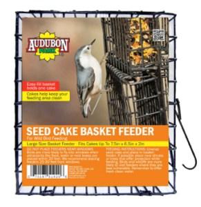 Audubon Park Seed Cake Basket Feeder