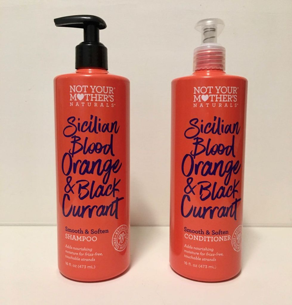 Not Your Mother's Naturals Sicilian Blood Orange & Black Currant Smooth & Soften Shampoo and Conditioner