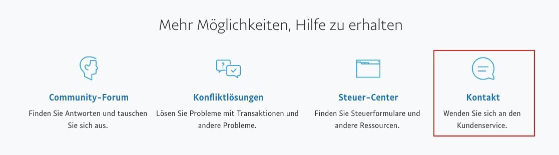 Paypal Kontakt Kundenservice Hotline E Mail Kontaktdaten