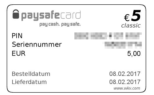 Ratgeber Paysafecard Wkv Ist Der Paymentanbieter Sicher