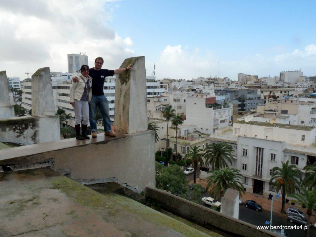 ...i widok z dachu