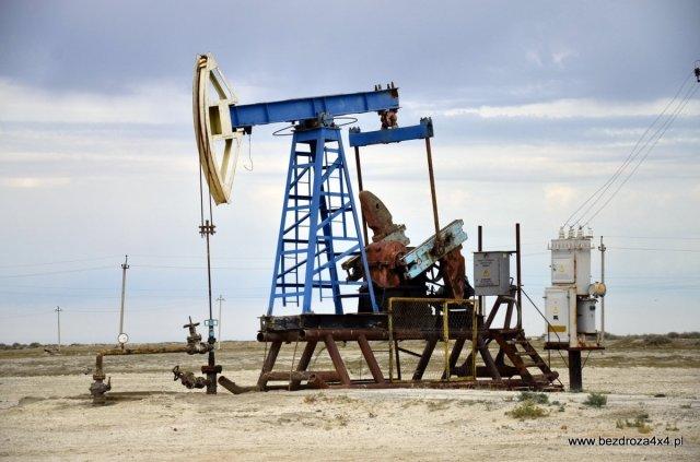 Mechaniczny osioł - pompa ropy naftowej