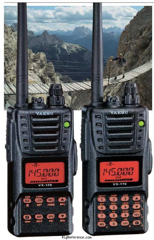 Przenośne radio UHF/VHF