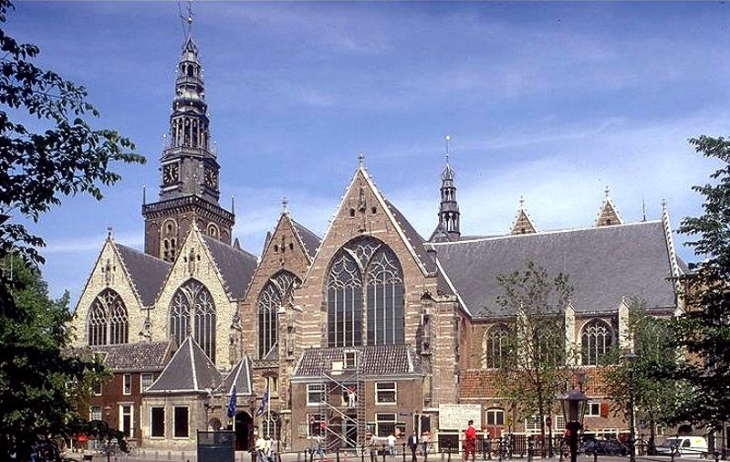 Old church things to do in amsterdam in one day