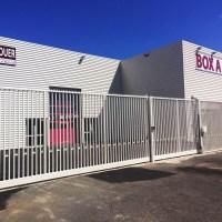 Portails imposants au garde meuble de Béziers – Beziers Box