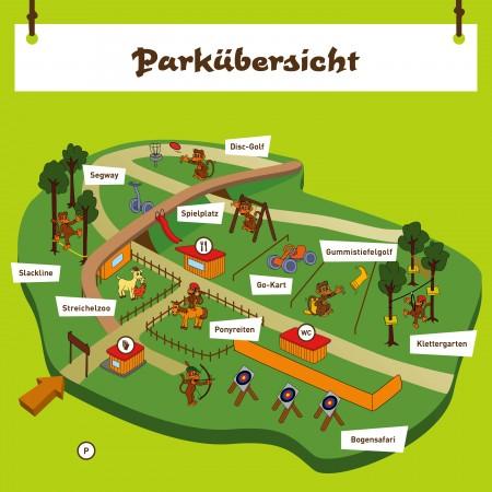 Parkübersicht Erlebnispark Gänserndorf