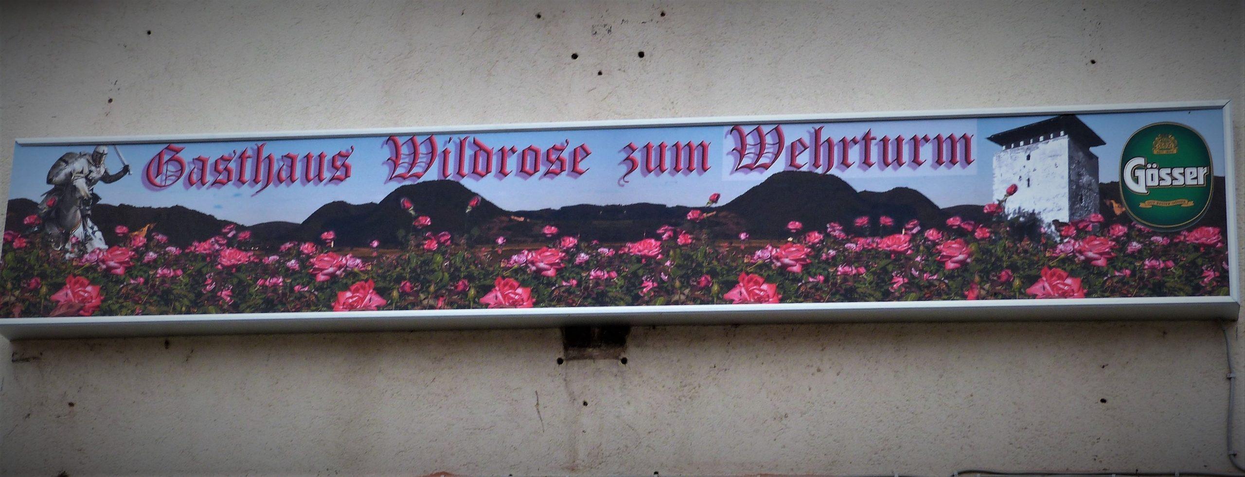 © Gasthaus Wildrose zum Wehrturm