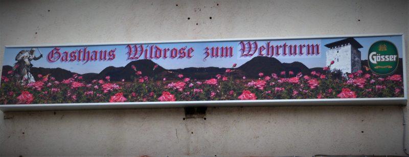 Gasthaus Wildrose zum Wehrturm