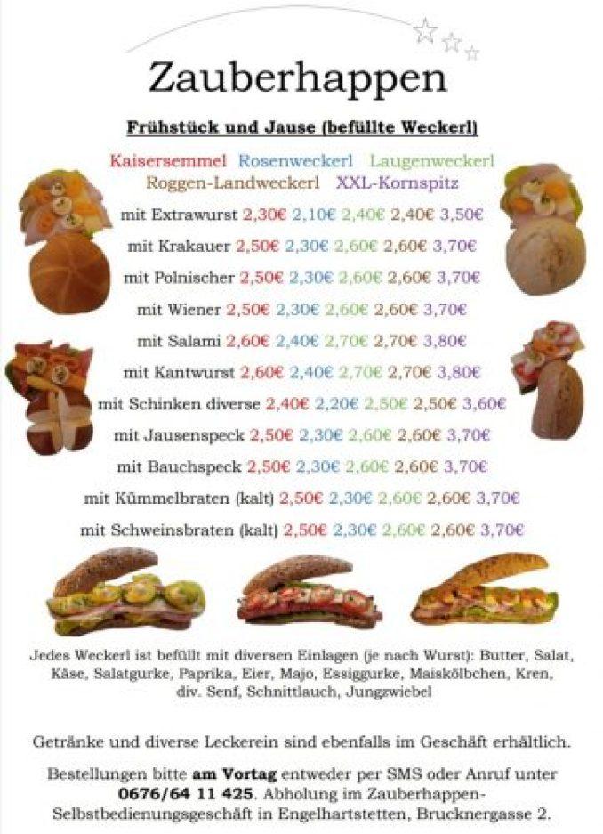Zauberhappen in Engelhartsstetten
