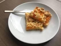 Marhuľový koláč s posýpkou (mrveničkou)
