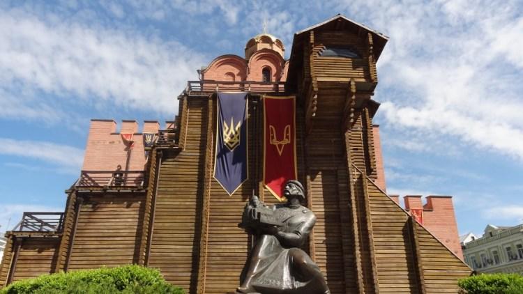 zoloti vorota - Bezoek Kiev