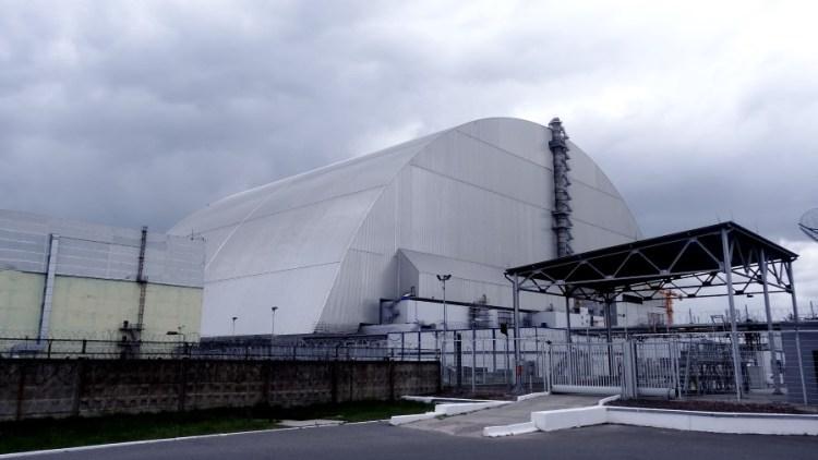 Tjernobyl kernreactor 4 - Bezoek Kiev