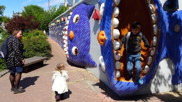 Landscape Alley park - Bezoek Kiev