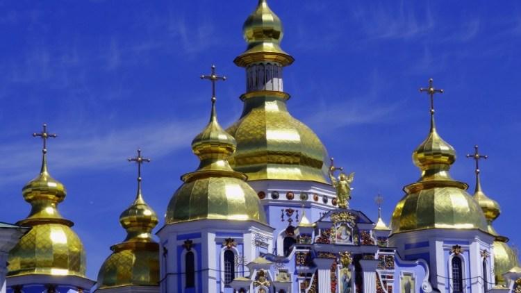 Sint Michael gouden koepel - Bezoek Kiev