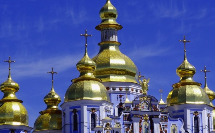 St Michael's church - Bezoek Kiev