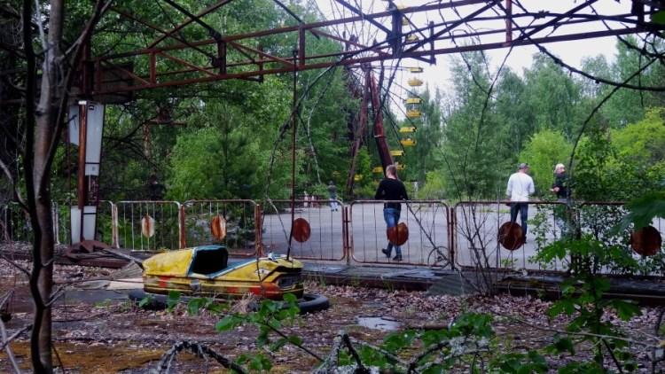 Tjernobyl kermis - Bezoek Kiev