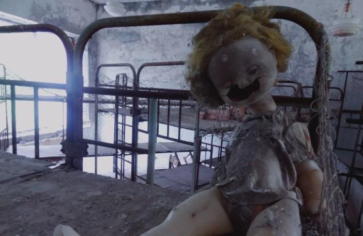 Pop kinderdagverblijf Tjernobyl - Bezoek Kiev