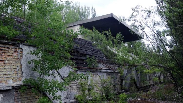 Tjernobyl sport stadion - Bezoek Kiev