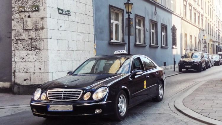 Van Katowice naar Krakau met de taxi